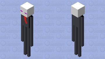 Slender Minecraft Mob Skin