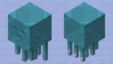 Jumbo Jellyfish! Minecraft Mob Skin