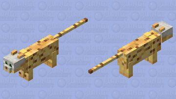 Skull ocelot Minecraft Mob Skin