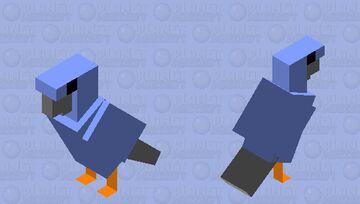 Twitter Bird Minecraft Mob Skin