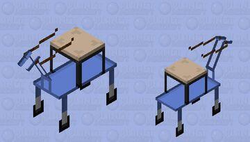 Panel cart Minecraft Mob Skin