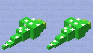 Green Tree Python Minecraft Mob Skin