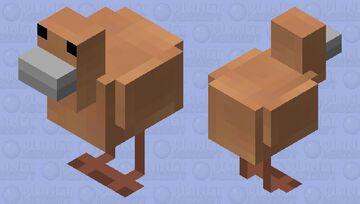 Kiwi bird Minecraft Mob Skin