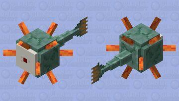 Mega eye guardian Minecraft Mob Skin