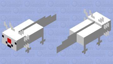 clown axolotl Minecraft Mob Skin