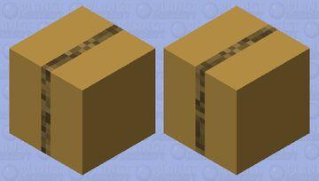 just a cardboard box! (shulker box skin) Minecraft Mob Skin