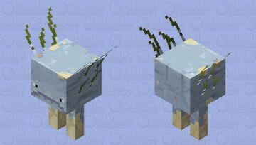 Depth strider Minecraft Mob Skin