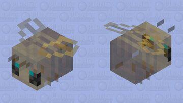crystallized bee Minecraft Mob Skin