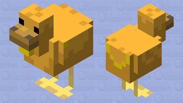 Golden Goose Minecraft Mob Skin