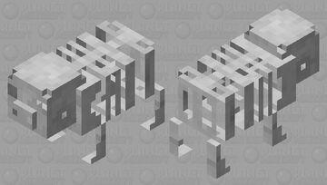 skeleton pig Minecraft Mob Skin