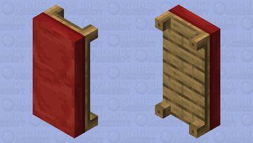 Red Sofa Minecraft Mob Skin