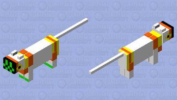 orange protocat Minecraft Mob Skin