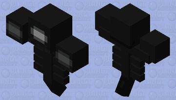when the wither is sus Minecraft Mob Skin