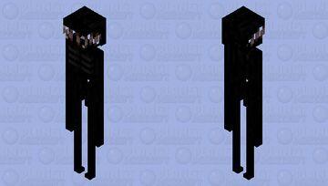 """[ > """"Sanity? = 0%"""" ] (Enderman V2) Minecraft Mob Skin"""
