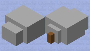 RAT!! Minecraft Mob Skin