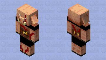Piglin chief Minecraft Mob Skin
