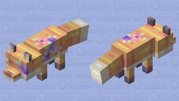 Foxes and Flowers - Creatures of Spring Series Minecraft Mob Skin