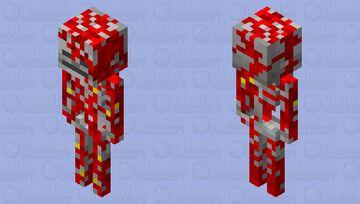 Corrupted skeleton Minecraft Mob Skin
