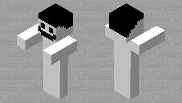 Photo bomb Minecraft Mob Skin