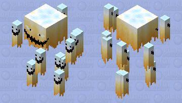 Blaze 1000 degrees Minecraft Mob Skin