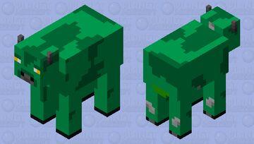 Beast Boy (Cow) Minecraft Mob Skin