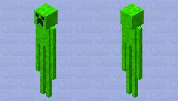 Creeperman Minecraft Mob Skin