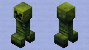 Remaking Vanilla Creeper Minecraft Mob Skin