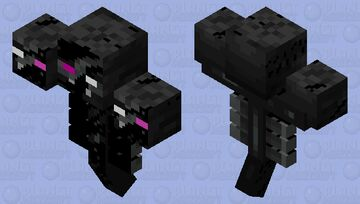 Infected Wither (New one comeing this is just a quick made one cause im makeing other stuff right now cya) Minecraft Mob Skin