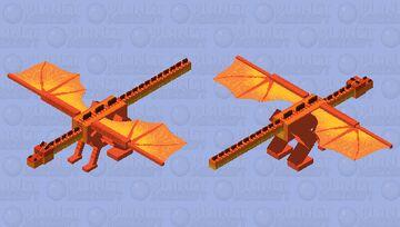 Peril Wings Of Fire (HD) Minecraft Mob Skin