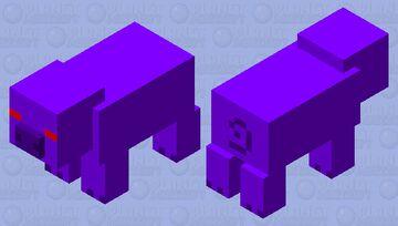 Void Pig Minecraft Mob Skin