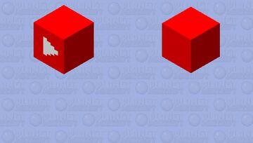 floating youtube Minecraft Mob Skin