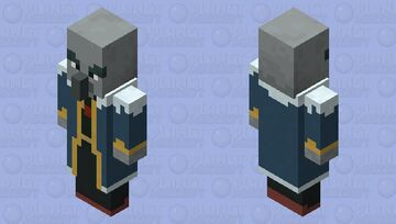 Minecraft Dungeons - Arch-Illager (Adult) Minecraft Mob Skin