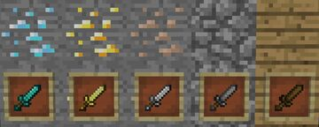 Daggers Minecraft Mod