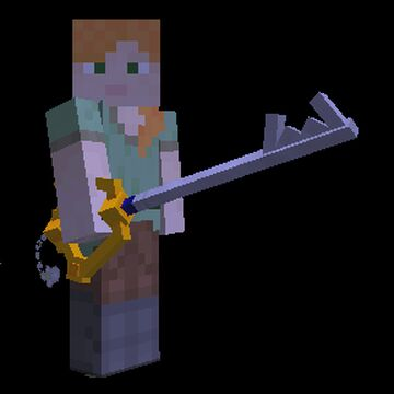 Keyblades [Custom 3D models with in-game abilities] Minecraft Mod