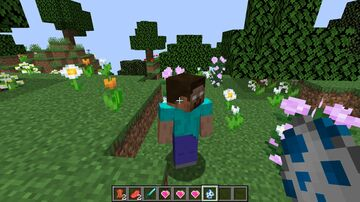 Mod for Herobrine and his Heart. Minecraft Mod