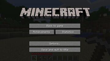 MCLogo in Escape Menu Minecraft Mod