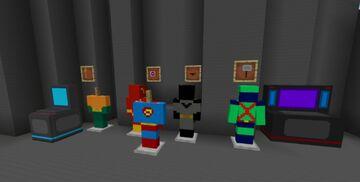 heroes ( Marvel.DC.Bosses ) Minecraft Mod
