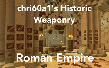 [1.15.2] [Forge] chri60a1's Historic Weaponry - Roman Empire Minecraft Mod