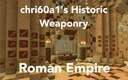 [1.15.2] [Forge] chri60a1's Historic Weaponry - Roman Empire Minecraft Mod