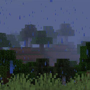 Particle Rain [Fabric Loader] Minecraft Mod