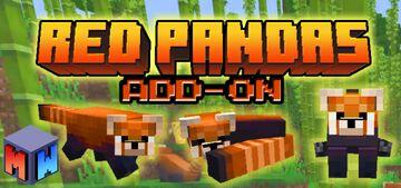 Red Panda Add-On (Bedrock) Minecraft Mod