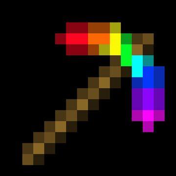 Rainbowite gear Minecraft Mod