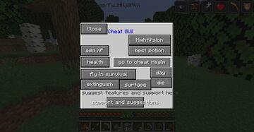 McCheats Minecraft Mod