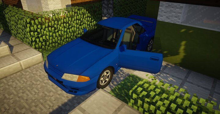 Skyline GT-R BNR32 Now you can open the door