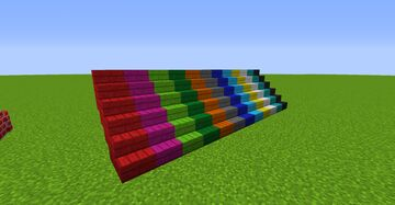 COLORED NEW BLOCKS 2 - 1.14.4 and 1.12.2 Minecraft Mod