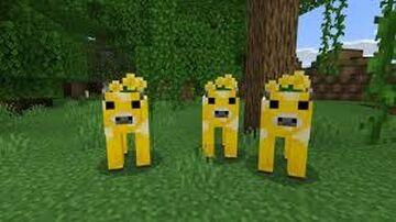 Moobloom mob Minecraft Mod