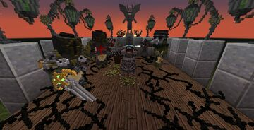 Black Plague Blocks (Armourer's Workshop) Minecraft Mod