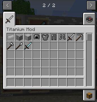 titanium Mod 1.12.2 Minecraft Mod