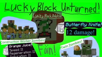 Lucky Block Unturned Minecraft Mod