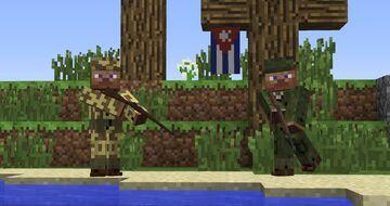 Armourer's Workshop 1.7.10 Cold War Cuban Uniforms Minecraft Mod
